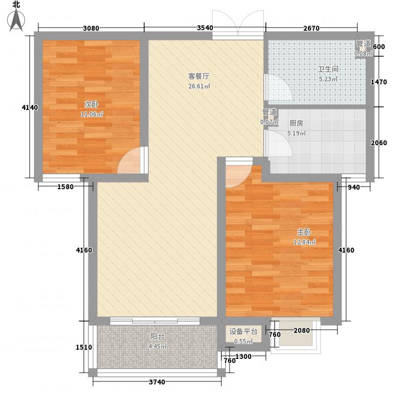 药研所87.00㎡药研所87.00㎡2室户型2室