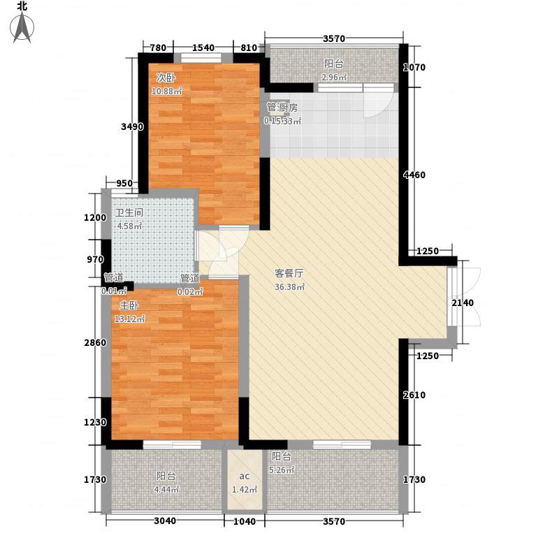 华亭苑华亭苑户型图E2室2厅1卫1厨户型2室2厅1卫1厨