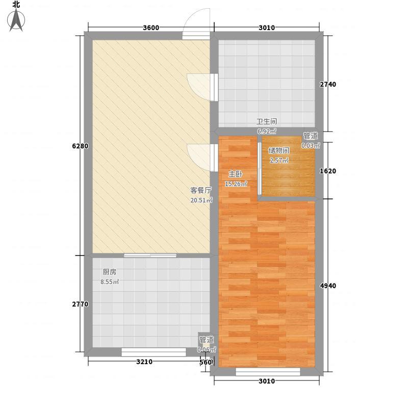 鸿伯园小区鸿伯园小区户型图鸿伯园小户型图1室2厅1卫1厨户型1室2厅1卫1厨