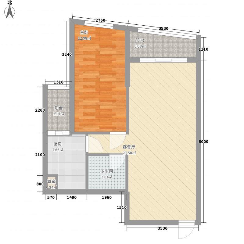 汇展香格里拉77.30㎡汇展香格里拉户型图A-G3已售完户型10室