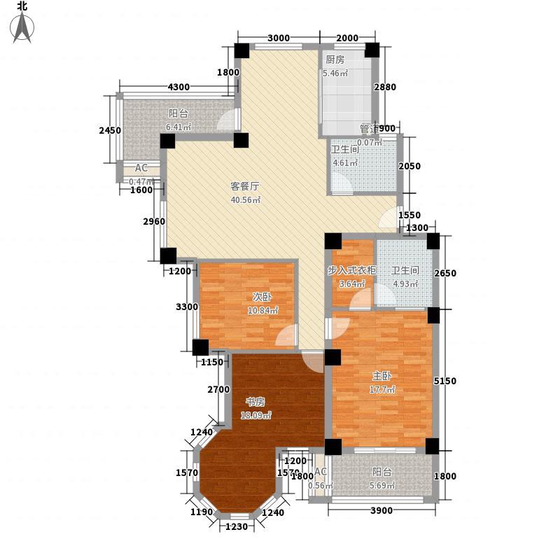 碧海苑137.36㎡碧海苑户型图A型3室2厅2卫户型3室2厅2卫