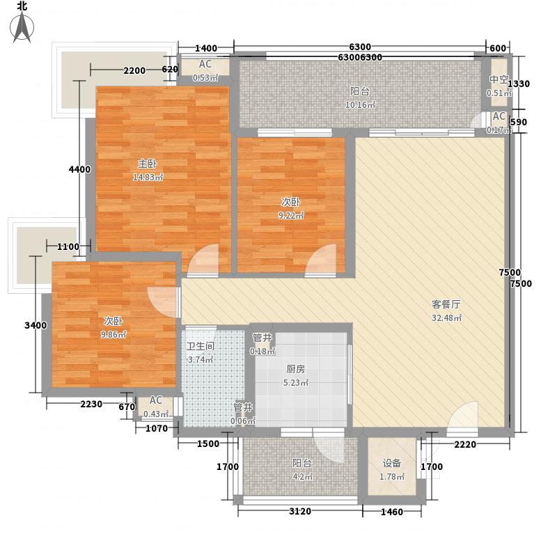 广州亚运城广州亚运城・天誉户型图2座03户型户型10室