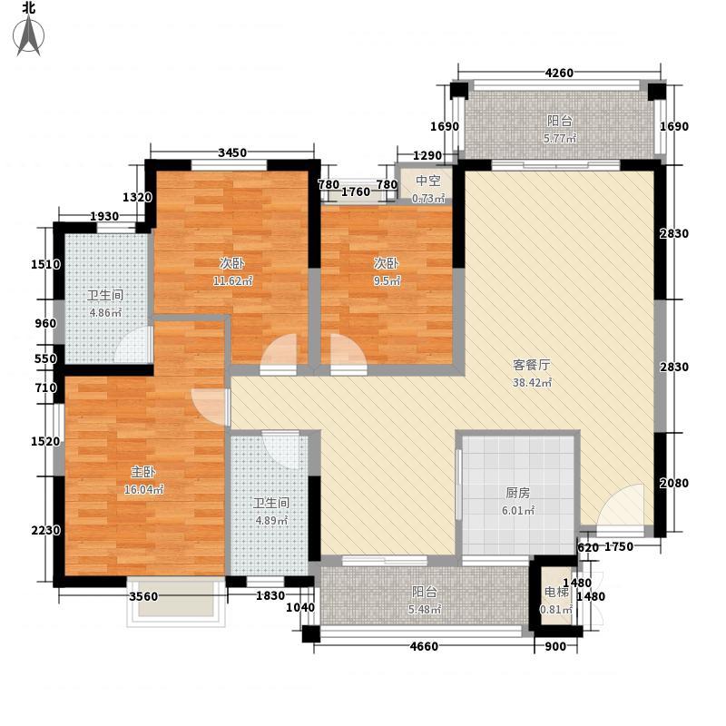 大拉长寿谷125.31㎡大拉长寿谷户型图A2户型图3室2厅1卫2厨户型3室2厅1卫2厨