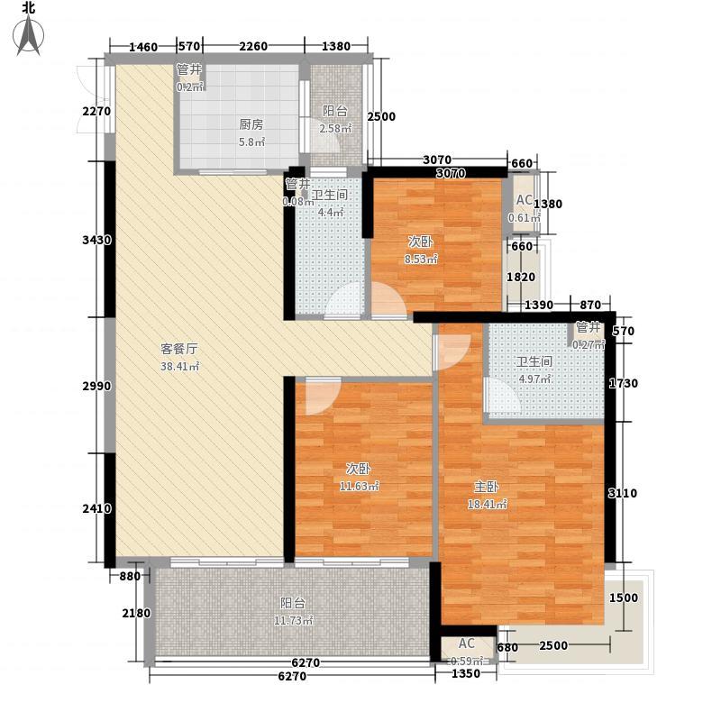 广州亚运城广州亚运城・天誉户型图1座02户型户型10室
