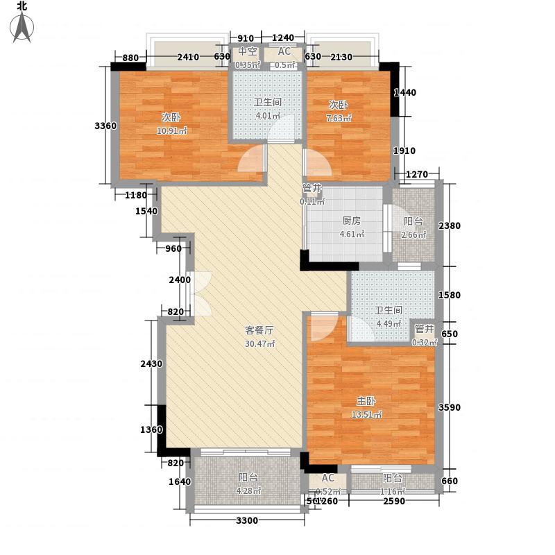 广州亚运城122.00㎡广州亚运城・天誉户型图运动员村标准层户型图3室2厅2卫1厨户型3室2厅2卫1厨