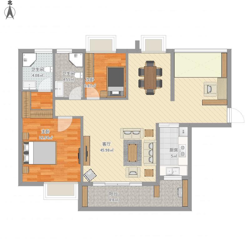 张家界-月亮湾花园三期-设计方案