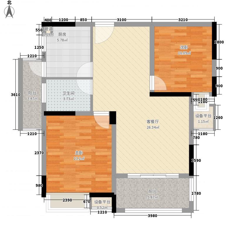 京科苑京科苑户型图户型图2室2厅1卫1厨户型2室2厅1卫1厨