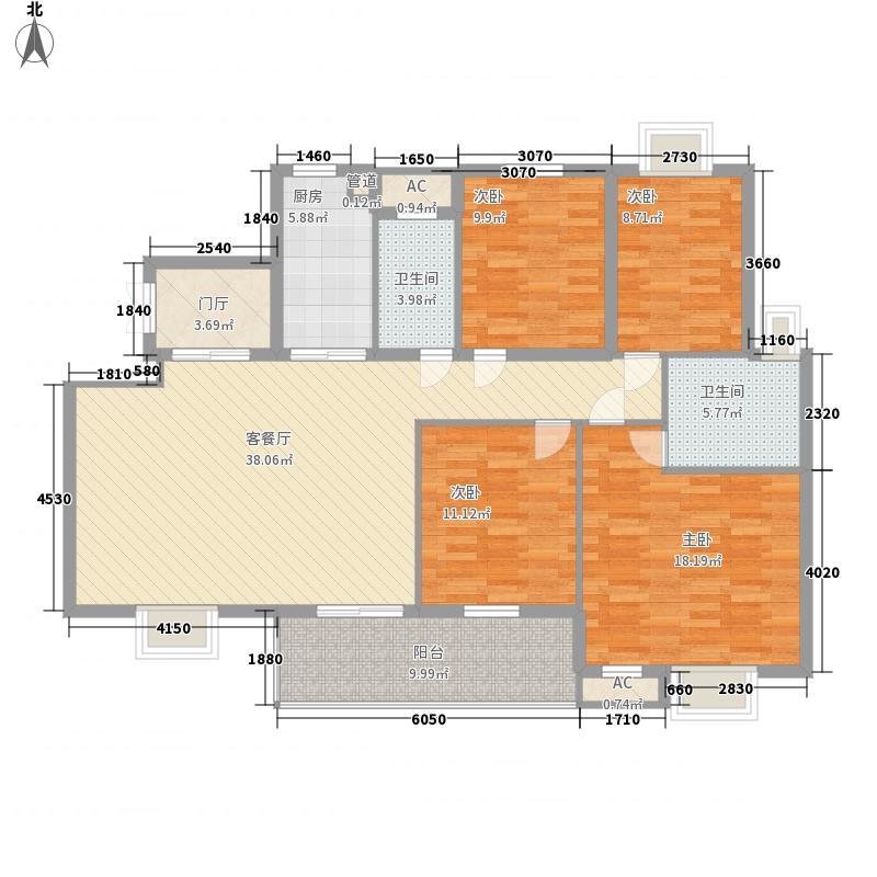 骏和国际公馆163.00㎡骏和国际公馆户型图A2户型4室2厅2卫户型4室2厅2卫
