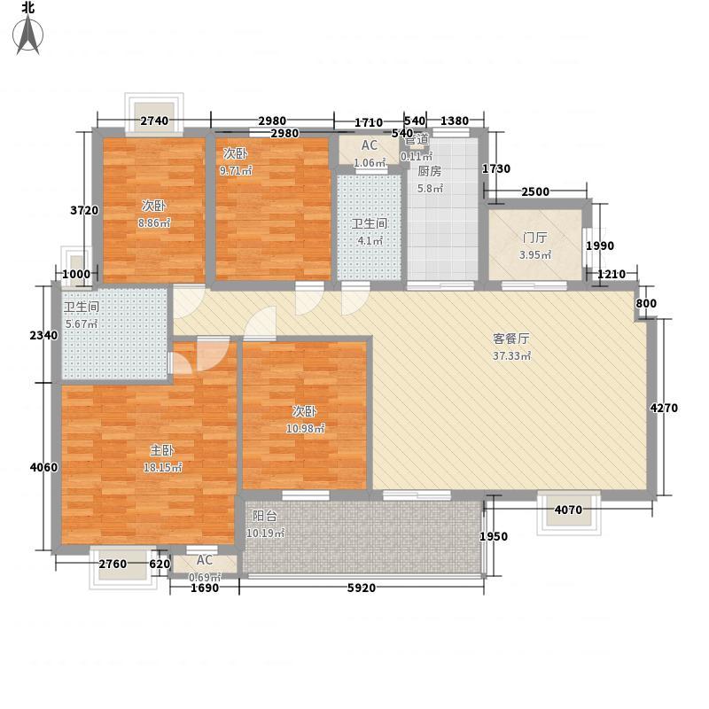 骏和国际公馆164.00㎡骏和国际公馆户型图A1户型4室2厅2卫户型4室2厅2卫