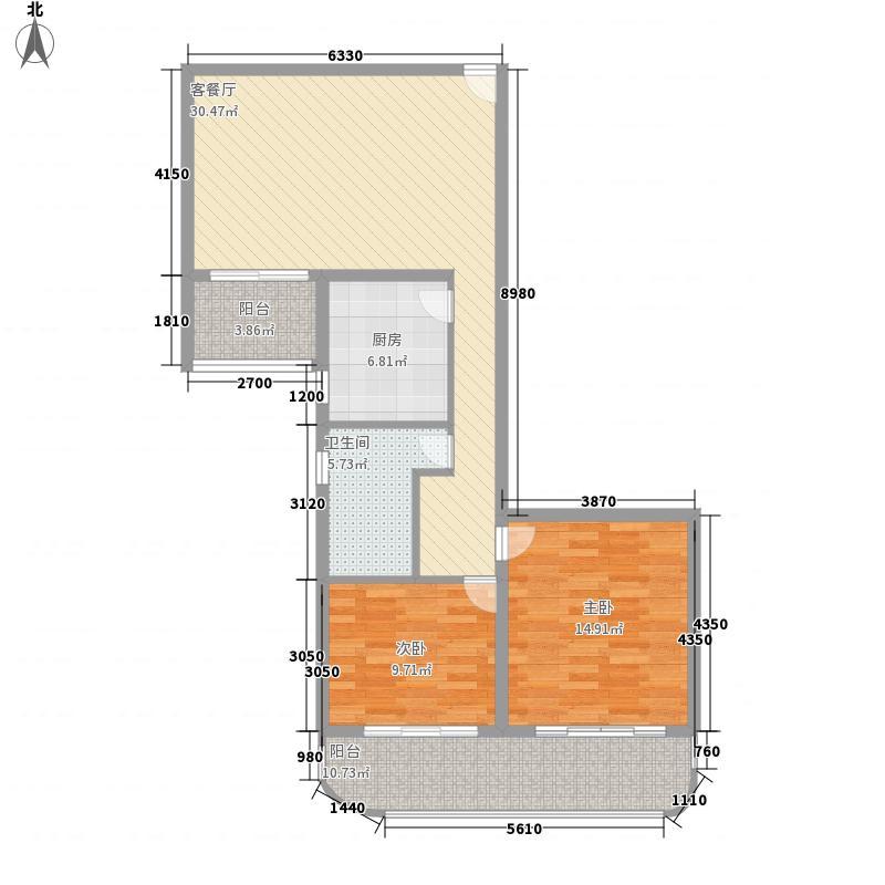 颐宁苑116.82㎡上海颐宁苑户型10室