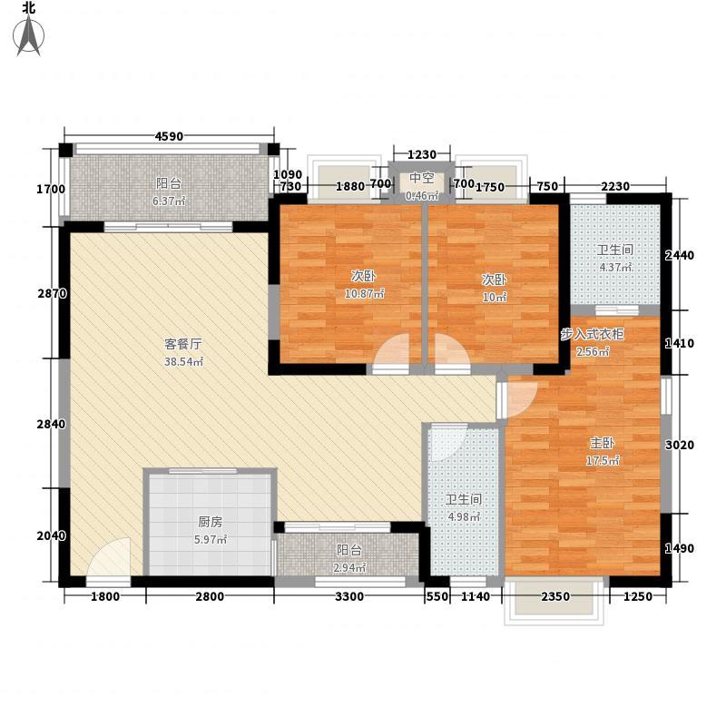 大拉长寿谷122.94㎡大拉长寿谷户型图A1户型图3室2厅1卫2厨户型3室2厅1卫2厨