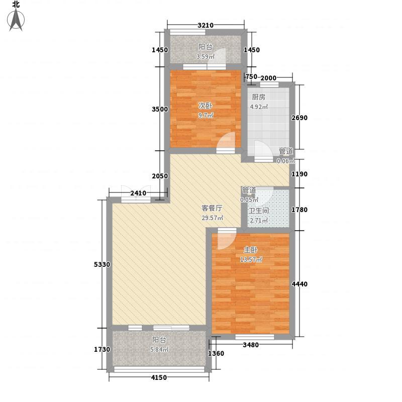 安联大城小院94.70㎡10-3-201面积9470m户型