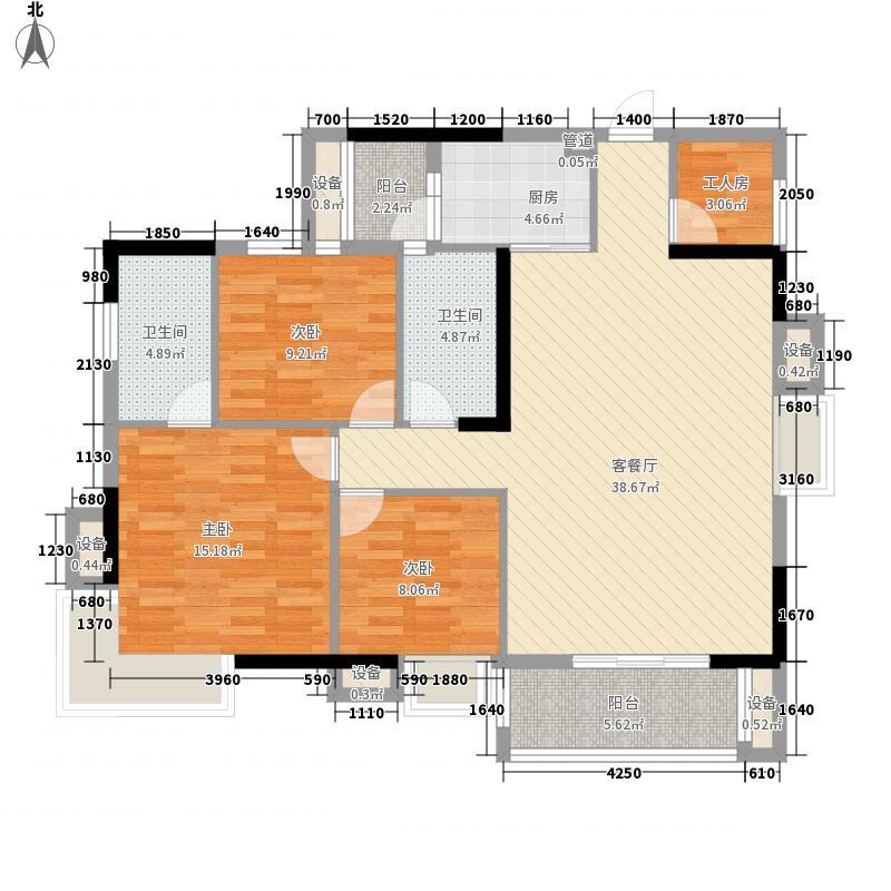 正康花园146.00㎡正康花园4室户型4室