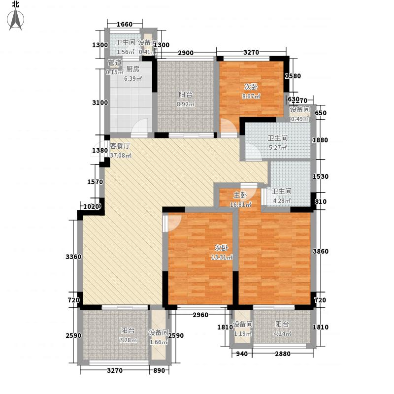 博澳名苑132.00㎡博澳名苑户型图N户型3室2厅2卫1厨户型3室2厅2卫1厨