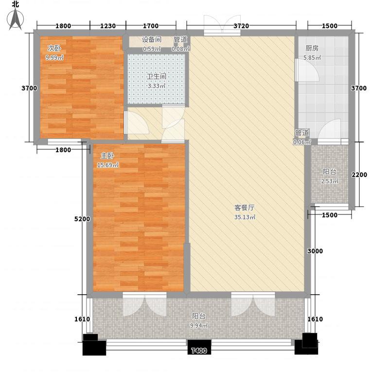 名都枫景95.00㎡名都枫景户型图户型图3室1厅1卫1厨户型3室1厅1卫1厨