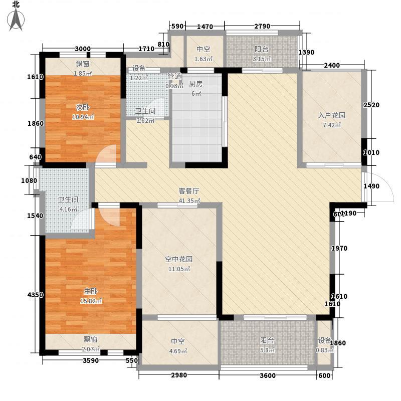 融侨上院129.56㎡融侨上院户型图A1户型2室2厅2卫1厨户型2室2厅2卫1厨