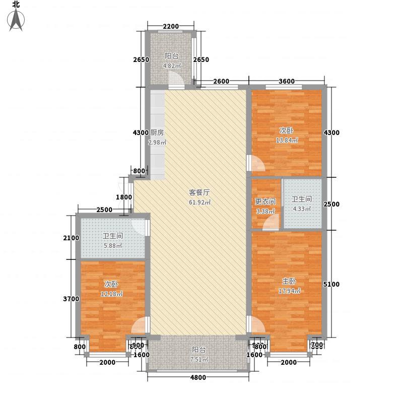 群力观江国际13、17号楼户型