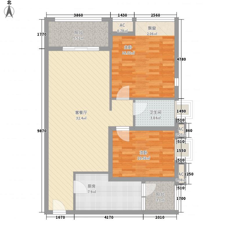 成都ICC158.00㎡D户型3室2厅2卫1厨