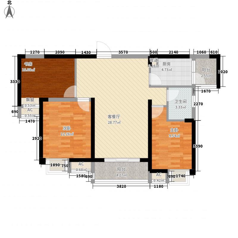 无锡滨湖万达广场112.30㎡无锡滨湖万达广场户型图D区住宅G2户型3室2厅1卫户型3室2厅1卫