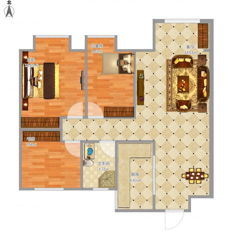 徐州-美的时代城-设计方案