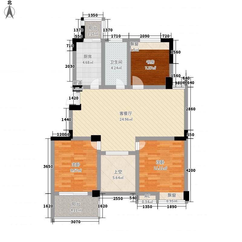 东方威尼斯108.00㎡东方威尼斯户型图B户型3室2厅1卫1厨户型3室2厅1卫1厨
