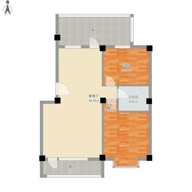 长城惠兰园C区B2阁楼层户型