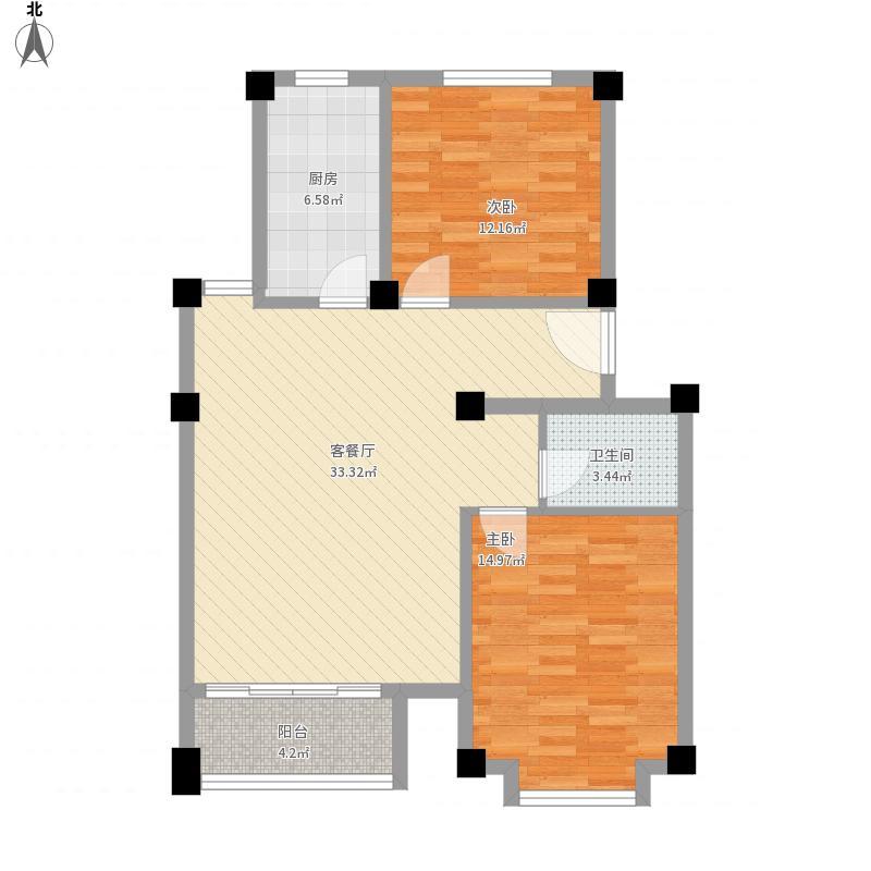 长城惠兰园C区B1标准层