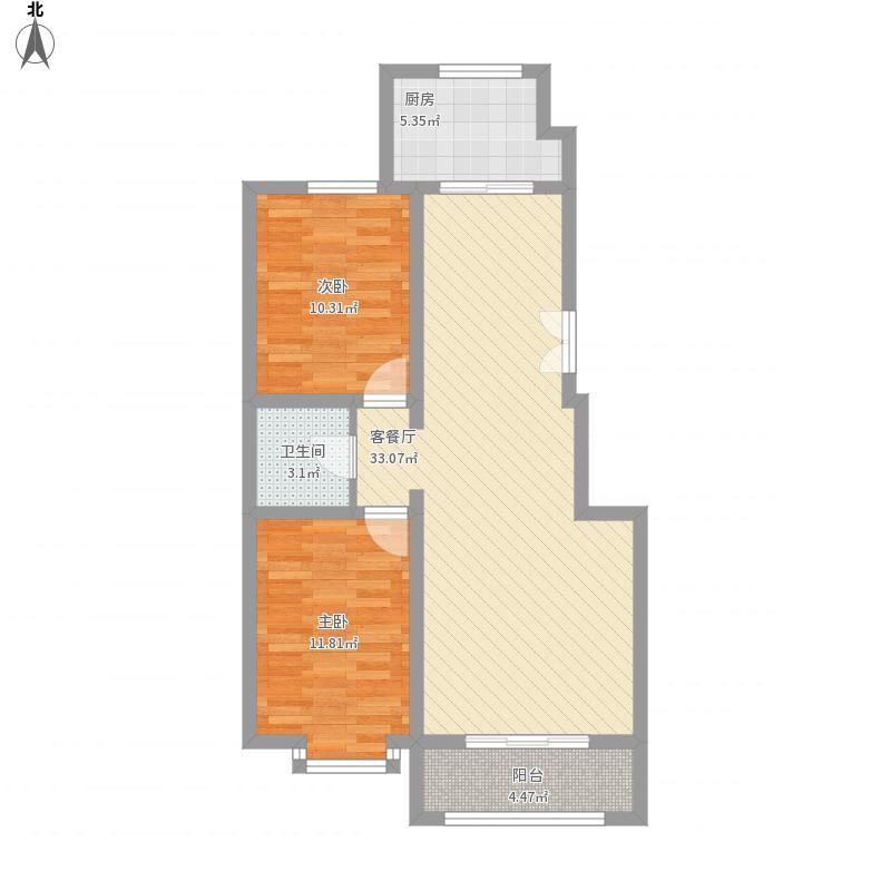 长城惠兰园C区D区C阁楼层户型