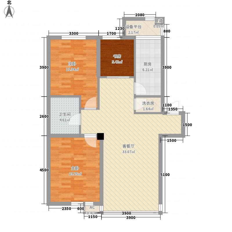 巴塞罗那・皇家特区100.11㎡巴塞罗那・皇家特区户型图D-23室2厅1卫户型3室2厅1卫