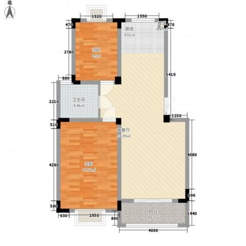 荷花苑2室1厅1卫0厨98.00㎡户型图