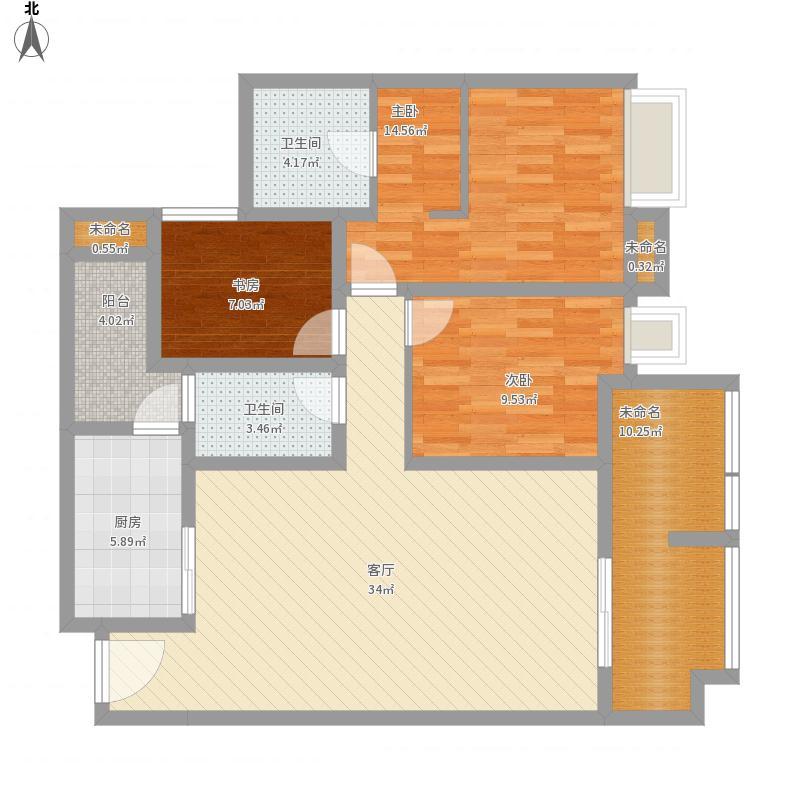 璧山同景国际5号楼5号房129.2m2