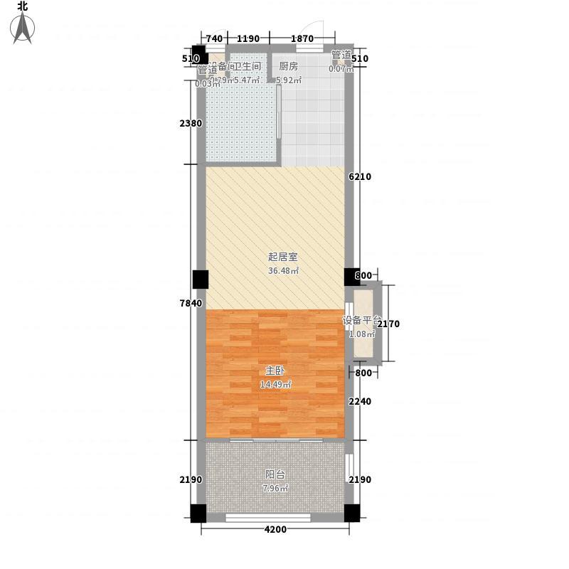 绿城蓝庭绿城蓝庭颐养公寓F户型83㎡户型10室