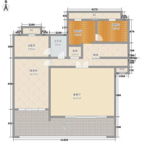 黄泥坝村1厅1卫0厨210.00㎡户型图