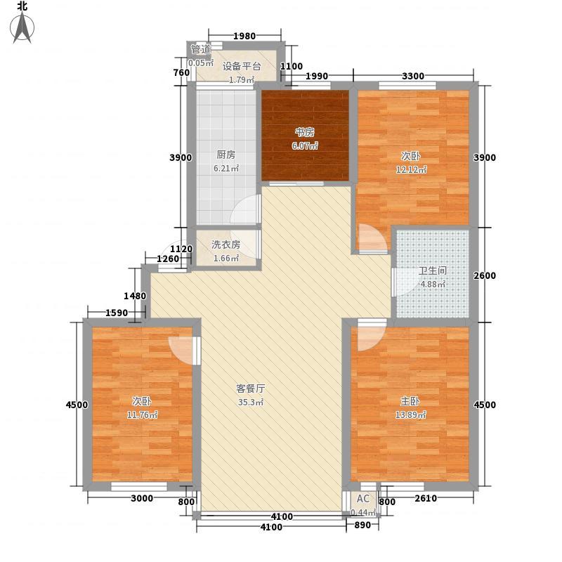 巴塞罗那・皇家特区118.28㎡巴塞罗那・皇家特区户型图D-34室2厅1卫户型4室2厅1卫