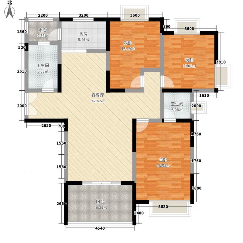 五河新村87.00㎡五河新村2室户型2室