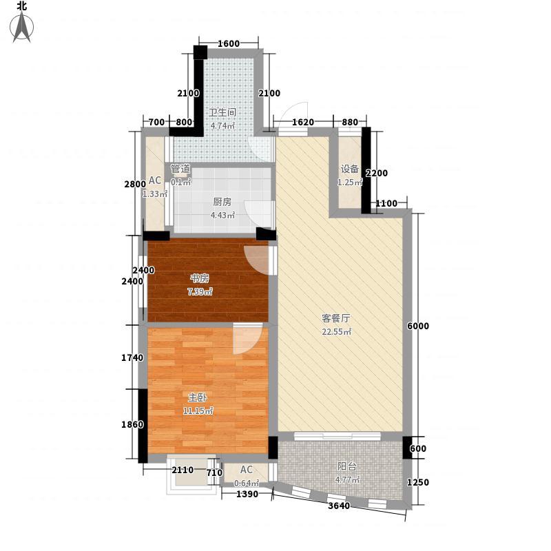 世纪花园70.77㎡世纪花园户型图1#楼H户型图2室2厅1卫1厨户型2室2厅1卫1厨