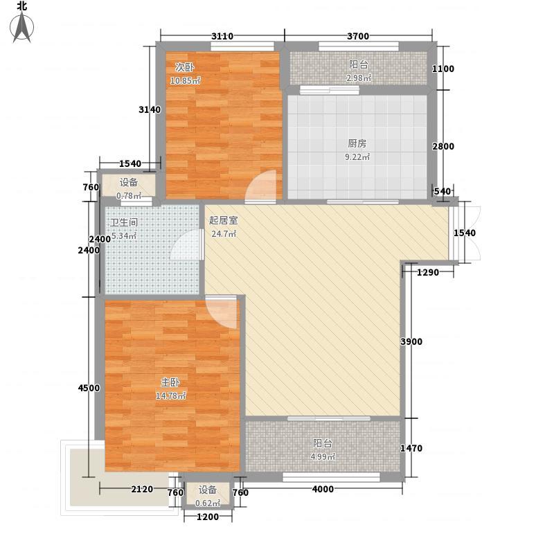 盛高国际望江花园项目62.11㎡盛高国际望江花园项目户型图A1户型2室2厅1卫1厨户型2室2厅1卫1厨