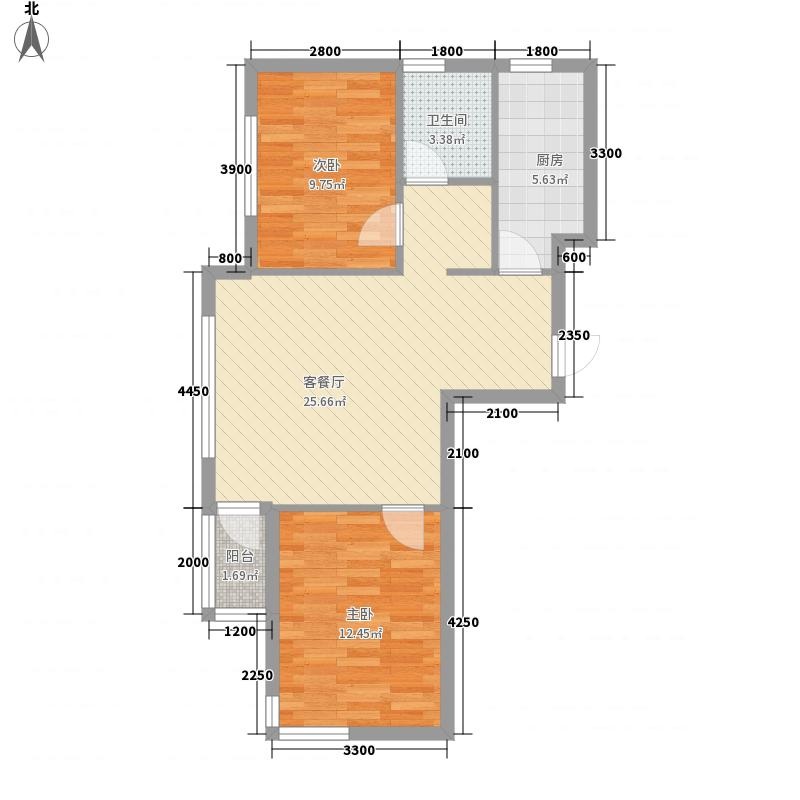 安邦阳光尚城84.00㎡安邦阳光尚城户型图9号楼E户型2室2厅1卫1厨户型2室2厅1卫1厨