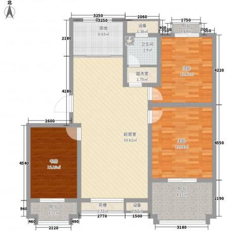 波塔东郡3室0厅1卫1厨100.31㎡户型图