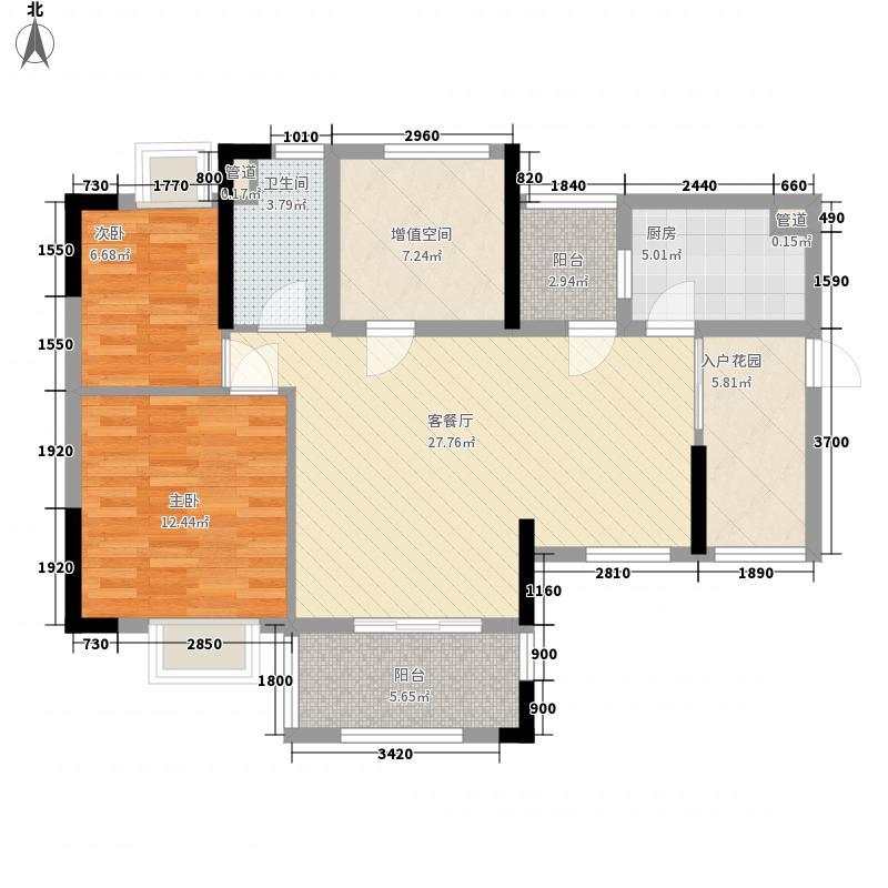 保利城二期89.00㎡保利城二期户型图2期海德A、C栋-05单元B、D栋-03单元3室2厅1厨户型3室2厅1厨