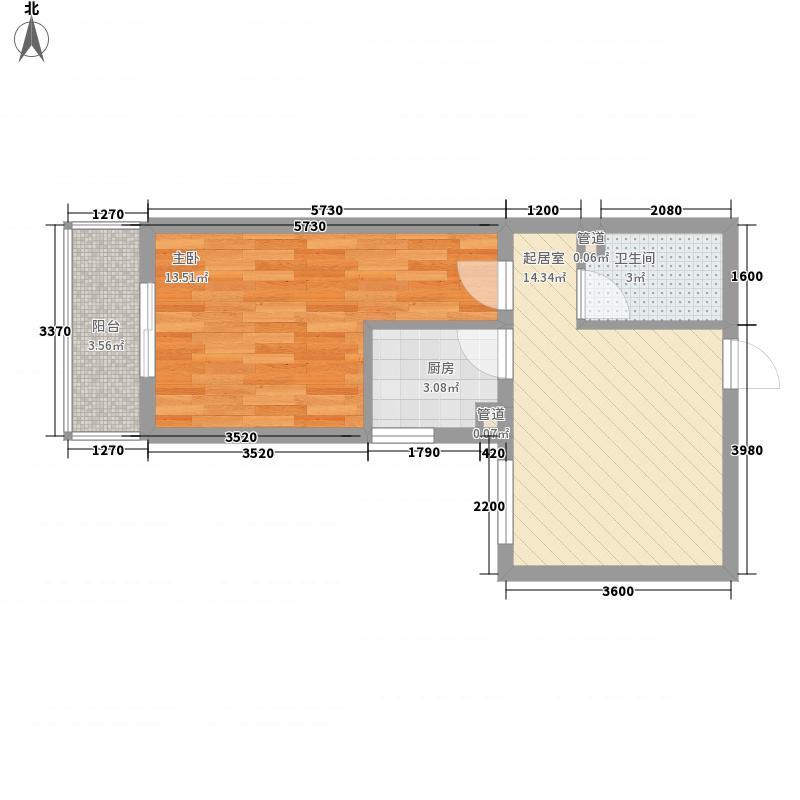 康桥国际43.00㎡康桥国际43.00㎡1室户型1室