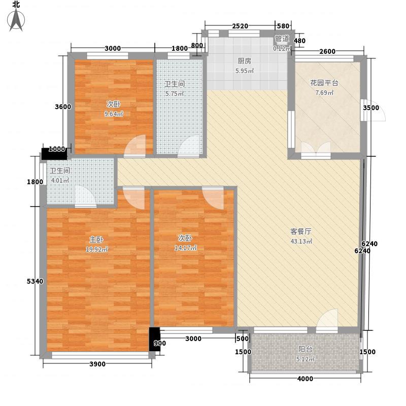 枫合万嘉139.00㎡枫合万嘉户型图3室2厅2卫户型10室