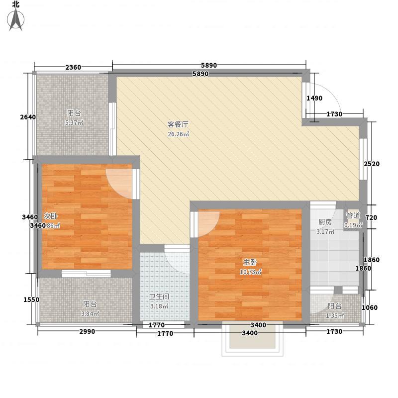 汇泽・蓝海湾户型图A-3