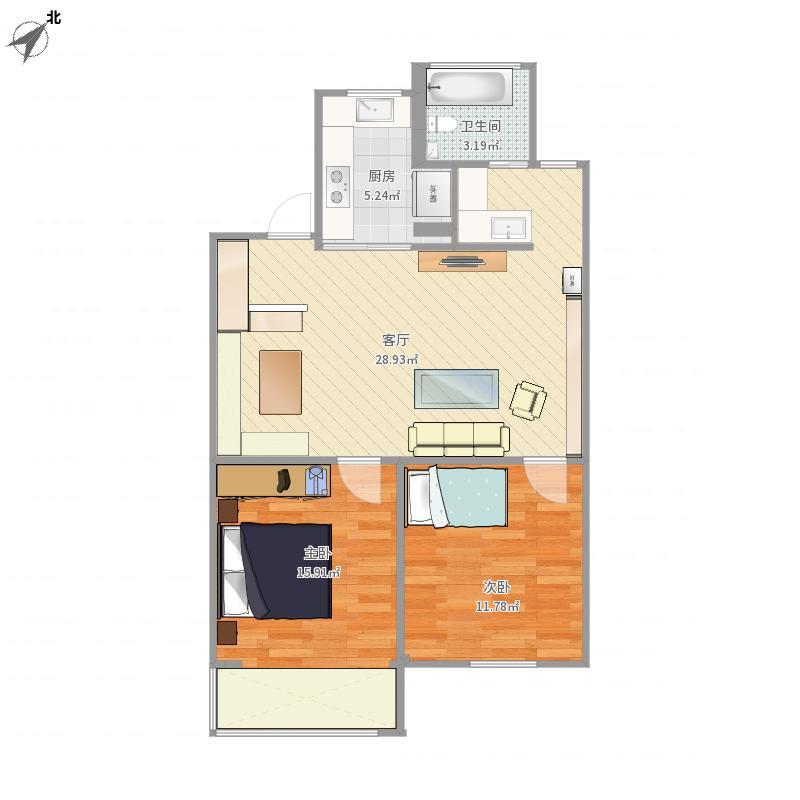 上海-嘉苑公寓-设计方案2