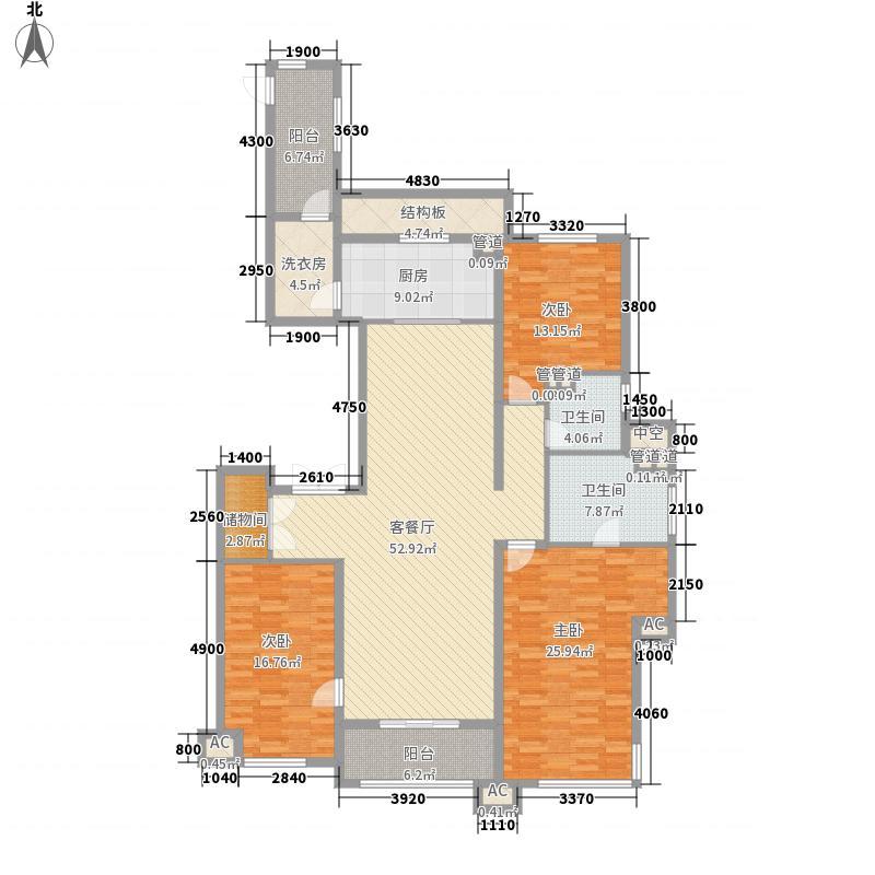 万科柏翠园18号楼A户型