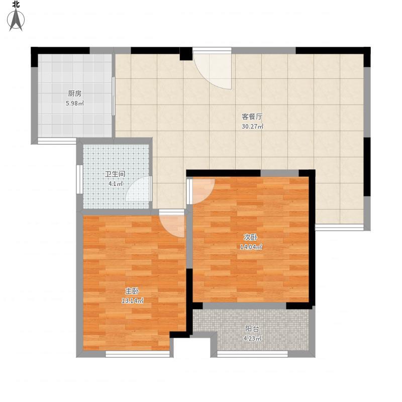 海安晨朗东方花园4层户型图