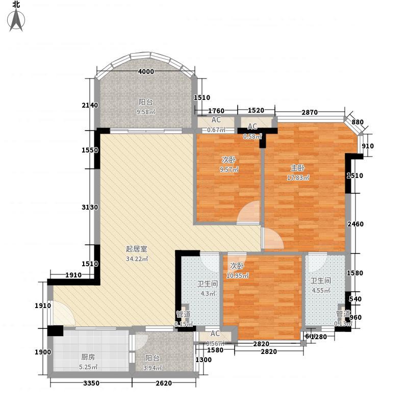 碧桂园清泉城花园里2期牌J452(1)户型