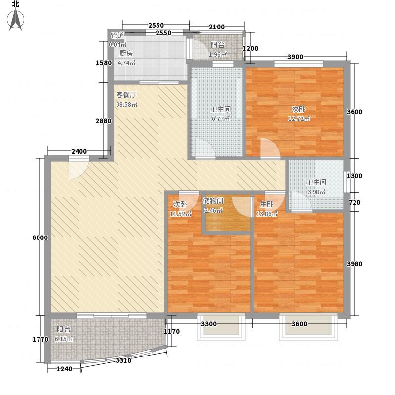 滨湖名都城三期131.40㎡滨湖名都城三期131.40㎡10室户型10室