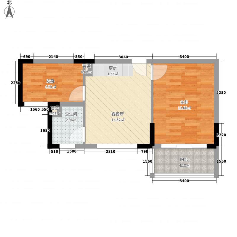 汇丰广场57.28㎡汇丰广场户型图F户型2室1厅1卫1厨户型2室1厅1卫1厨
