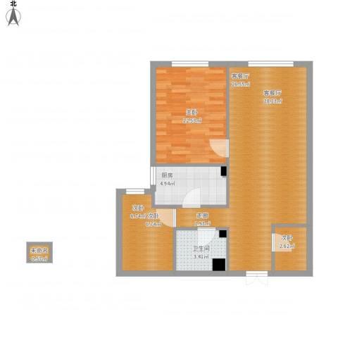 永升嘉园3室1厅1卫1厨83.00㎡户型图